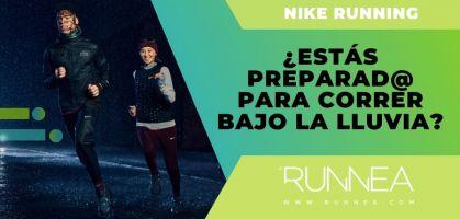¿Estás preparado para correr bajo la lluvia? Estos 5 modelos de Nike te van a sorprender