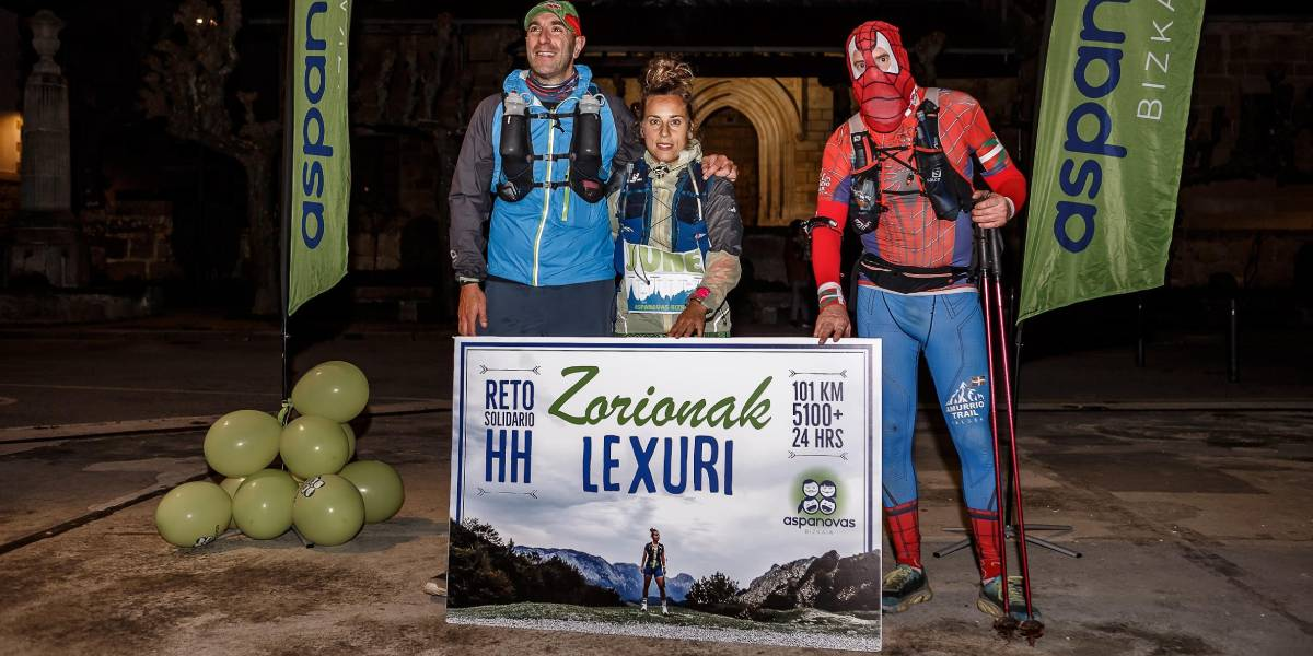Reto solidario Hiru Haundiak: Crónica de Lexuri Crespo, 101 km