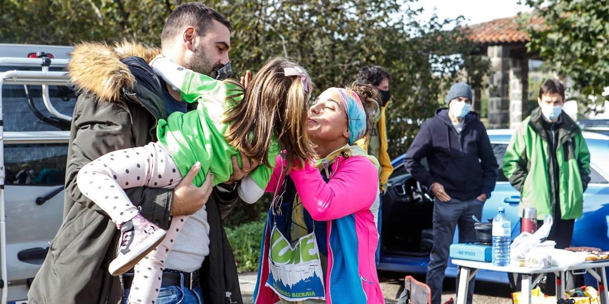 Reto solidario Hiru Haundiak: Crónica de Lexuri Crespo, familia