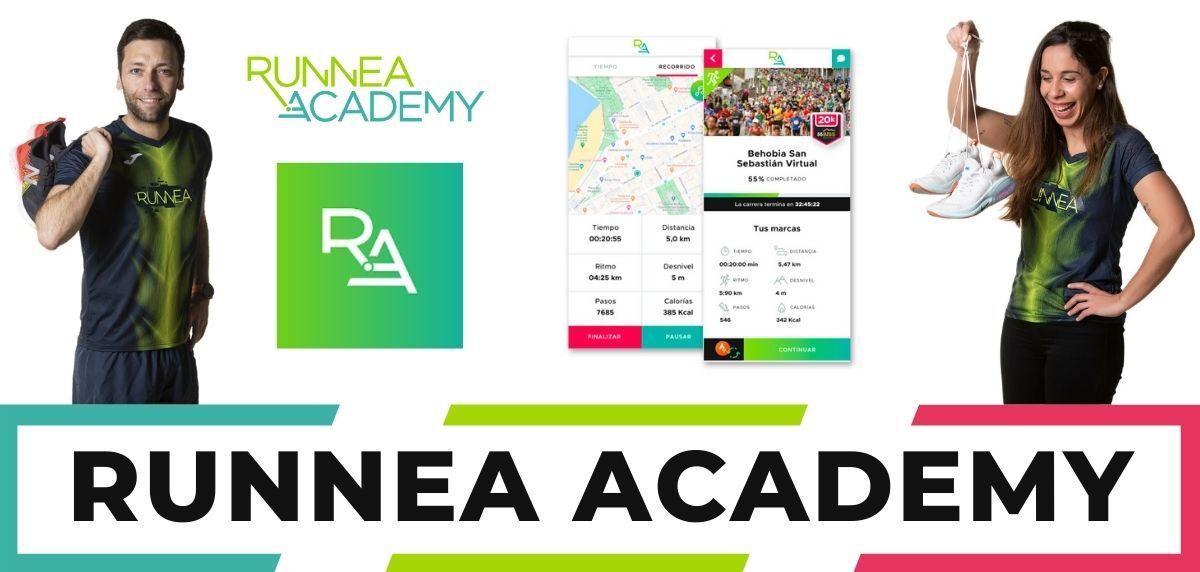 Mejores apps para correr iPhone, Runnea Academy