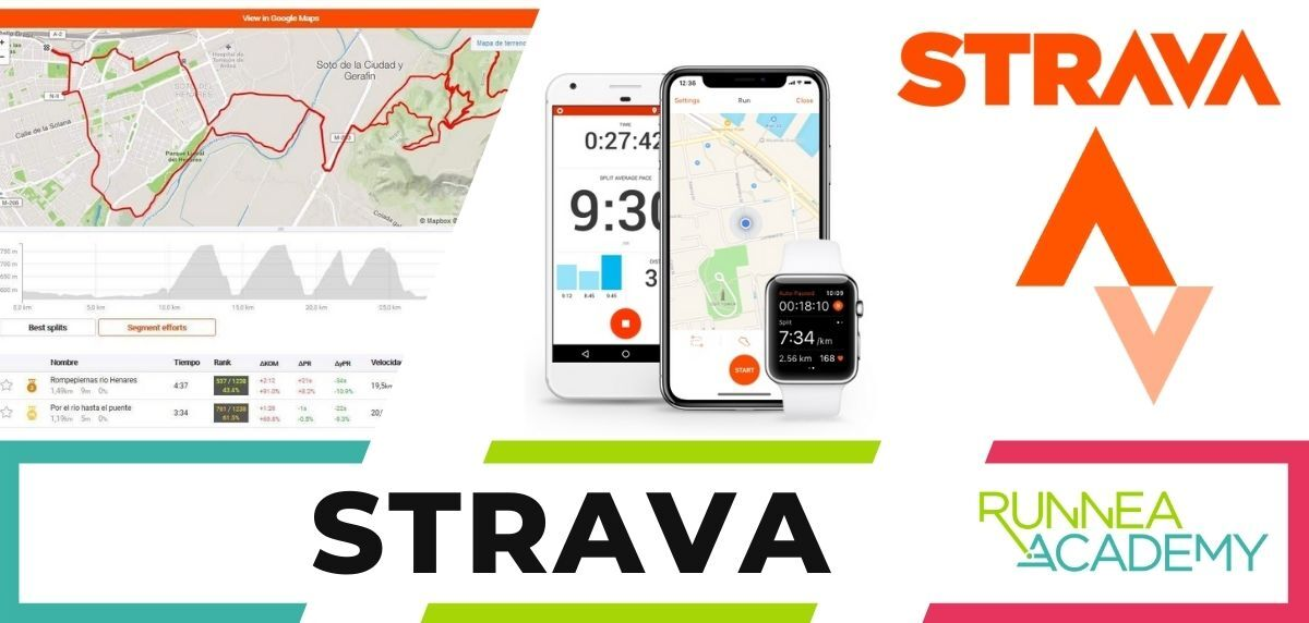 Mejores apps para correr iPhone, Strava
