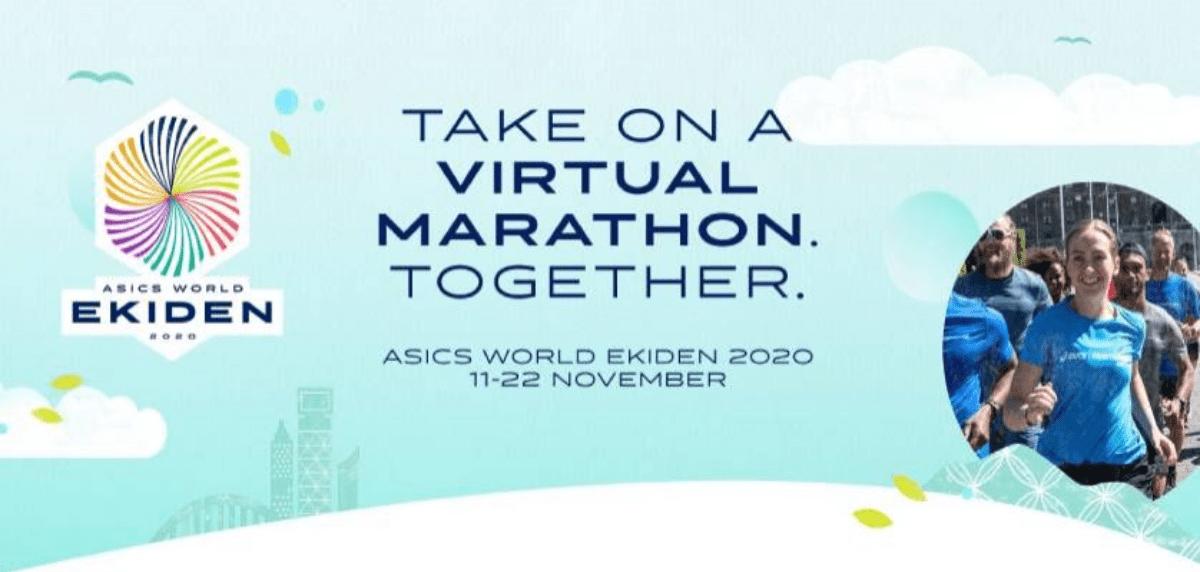 Las mejores carreras virtuales para correr lo que queda de 2020, ASICS World Ekiden 2020