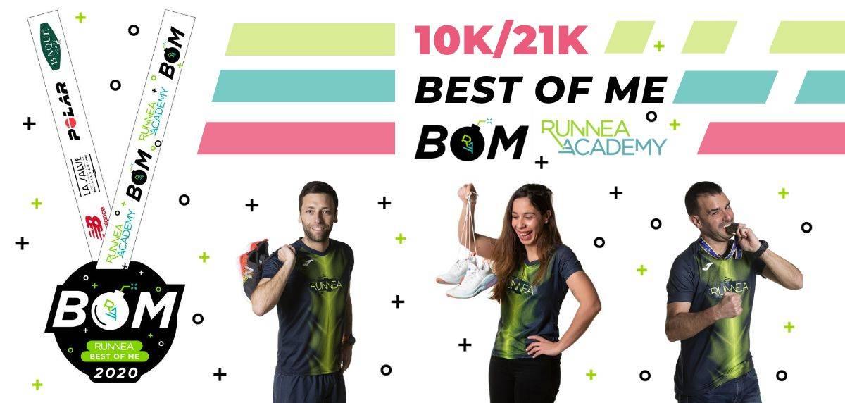 Las mejores carreras virtuales para correr lo que queda de 2020, BOM Runnea Best Of Me