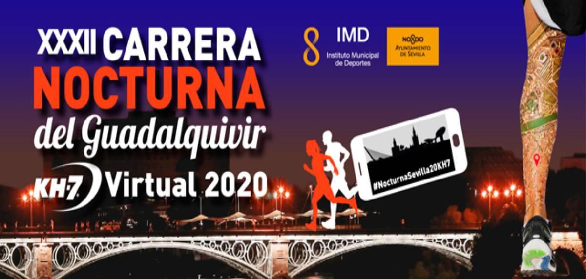 Las mejores carreras virtuales para correr lo que queda de 2020, Carrera Nocturna del Guadalquivir KH7 2020 virtual
