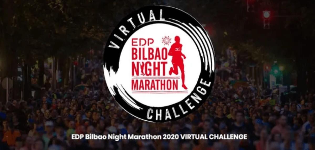 Las mejores carreras virtuales para correr lo que queda de 2020, EDP Bilbao Night Marathon 2020 VIRTUAL CHALLENGE