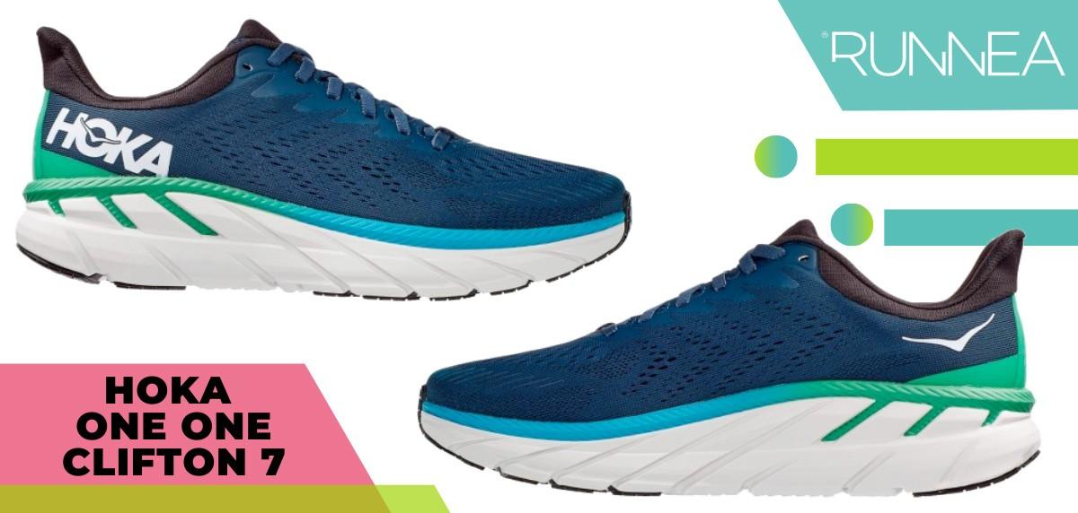 Mejores zapatillas running 2020 - HOKA ONE ONE Clifton 7