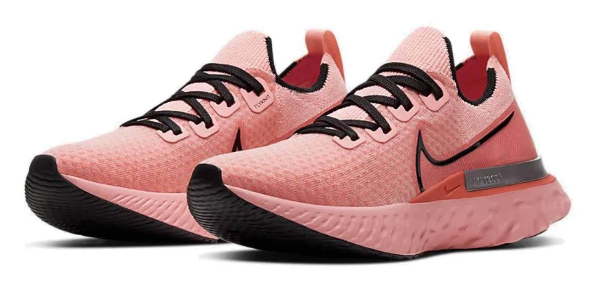 Nike React Infinity Run Flyknit, upper