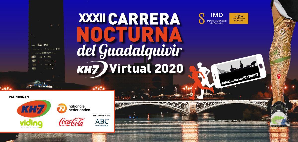 Finalizada con éxito la XXXII Carrera Nocturna del Guadalquivir KH-7 Virtual 2020