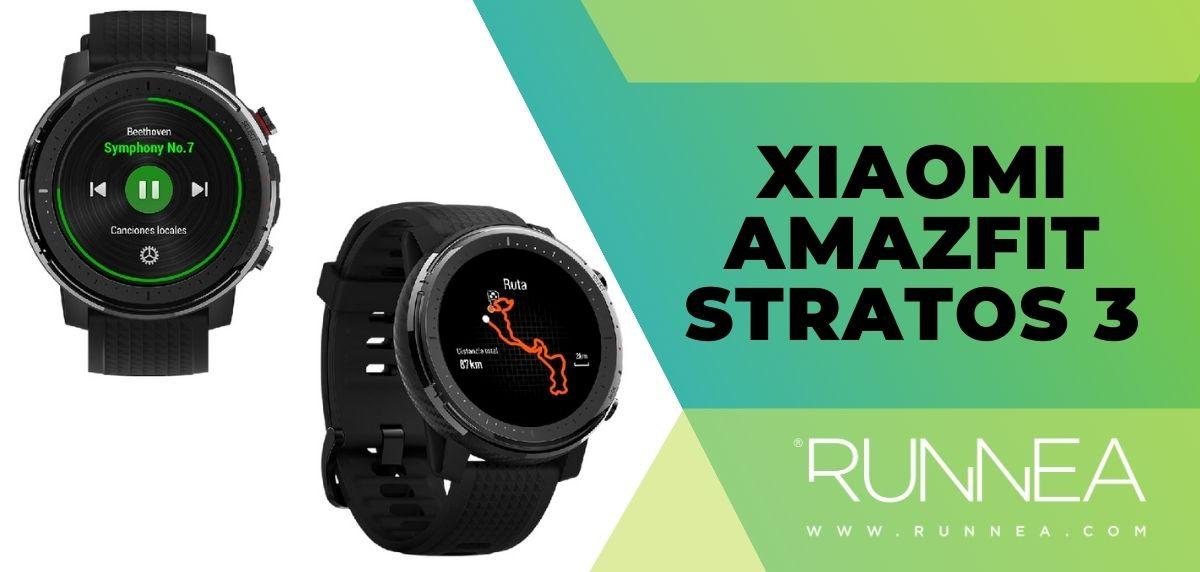 ¿Qué pulsómetro me compro? - Xiaomi Amazfit Stratos 3