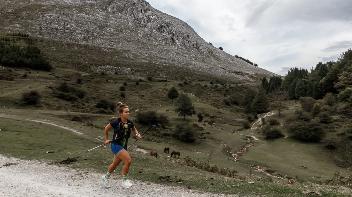 El Reto solidario de Lexuri Crespo: completar su primera ultra trail, ¡101 km! Hiru Haundiak