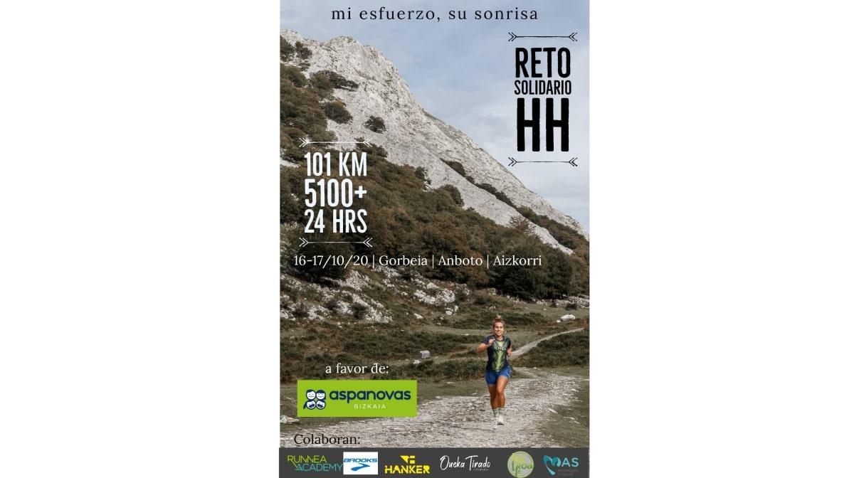 """El Reto solidario de Lexuri Crespo: completar su primera ultra trail, ¡101 km! """"Mi esfuerzo, su sonrisa"""""""