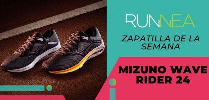 Zapatilla de la semana: Mizuno Wave Rider 24