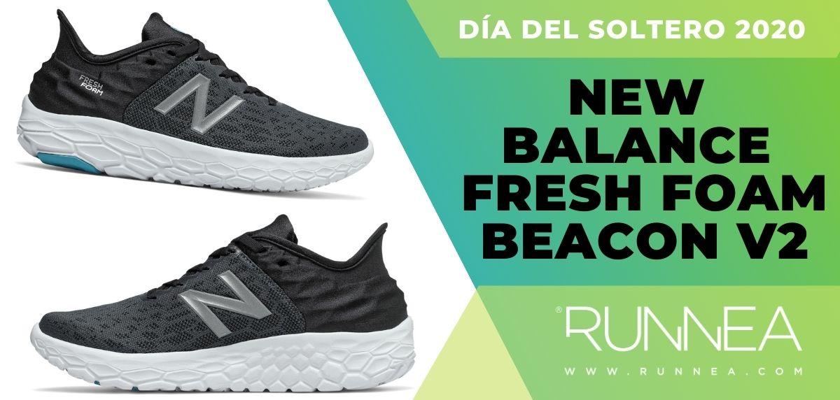 Día del Soltero New Balance 2020: las 6 mejores ofertas en zapatillas, New Balance Fresh Foam Beacon v2