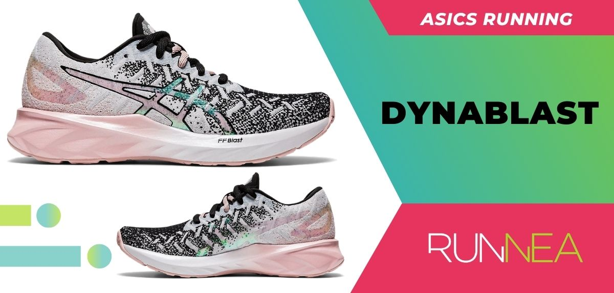 Las 8 zapatillas running ASICS para mujer ¡Descubre sus imprescindibles (This is for me)! ASICS Dynablast
