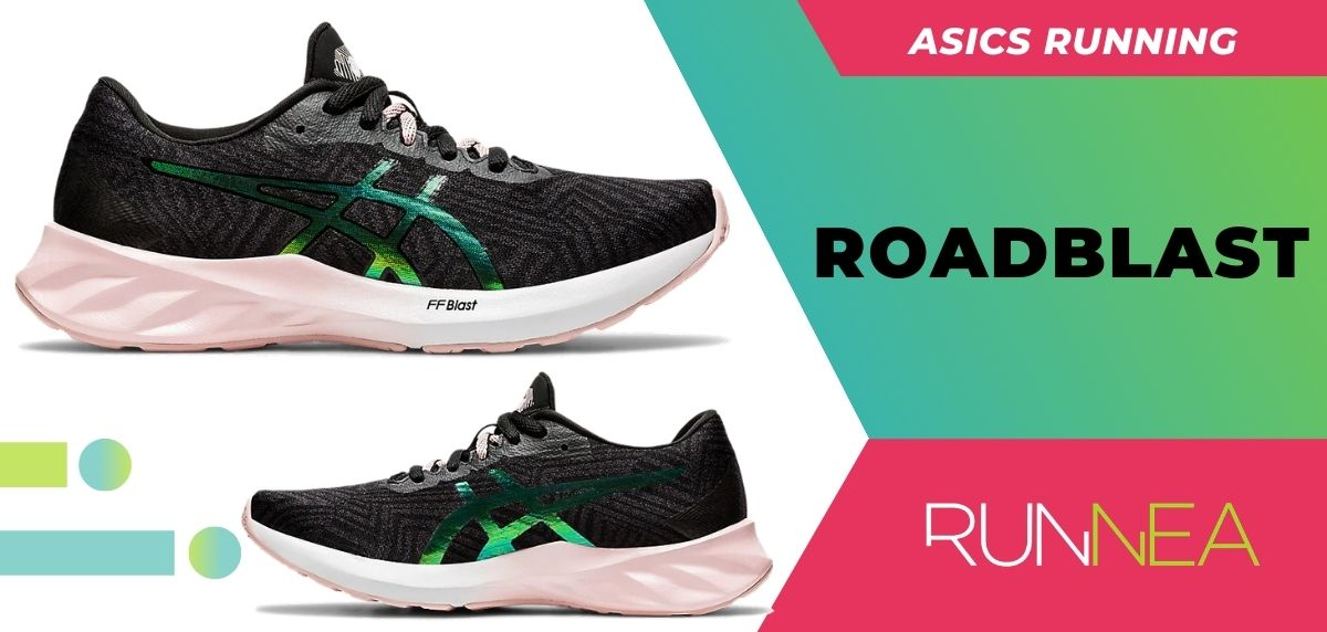 Las 8 zapatillas running ASICS para mujer ¡Descubre sus imprescindibles (This is for me)! ASICS Roadblast