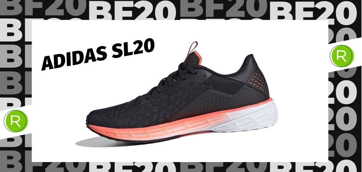 Black Friday zapatillas 2020: las 25 ofertas más destacadas en running, Adidas SL20