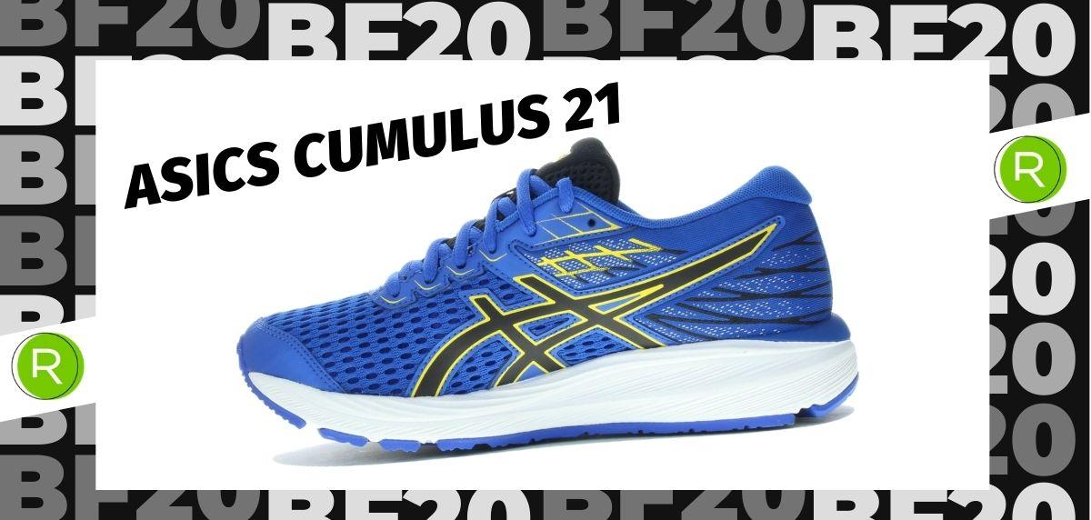 Black Friday zapatillas 2020: las 25 ofertas más destacadas en running, ASICS Cumulus 21