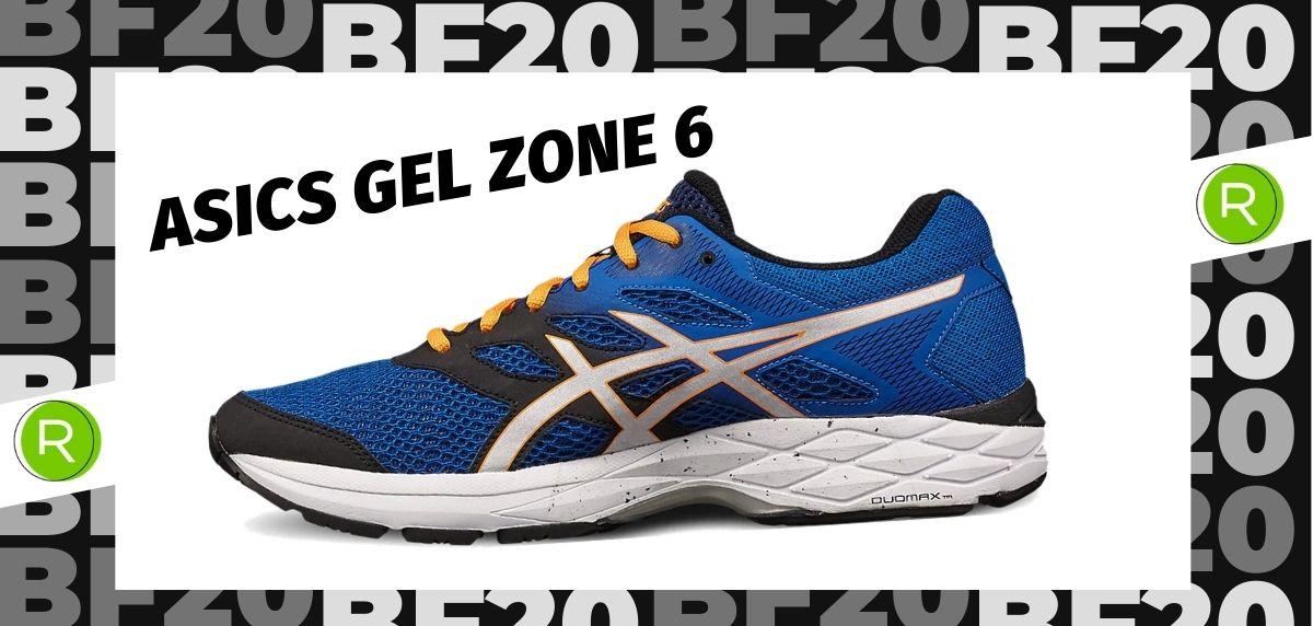 Black Friday zapatillas 2020: las 25 ofertas más destacadas en running, ASICS Gel Zone 6