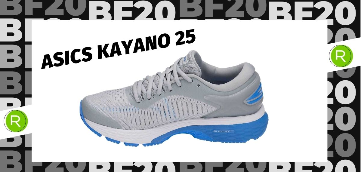 Black Friday zapatillas 2020: las 25 ofertas más destacadas en running, ASICS Kayano 25