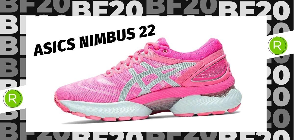 Black Friday zapatillas 2020: las 25 ofertas más destacadas en running, ASICS Nimbus 22