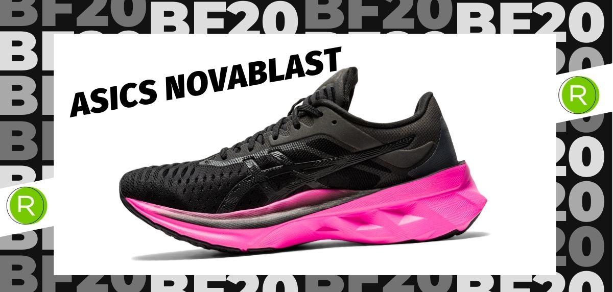 Black Friday zapatillas 2020: las 25 ofertas más destacadas en running, ASICS Novablast