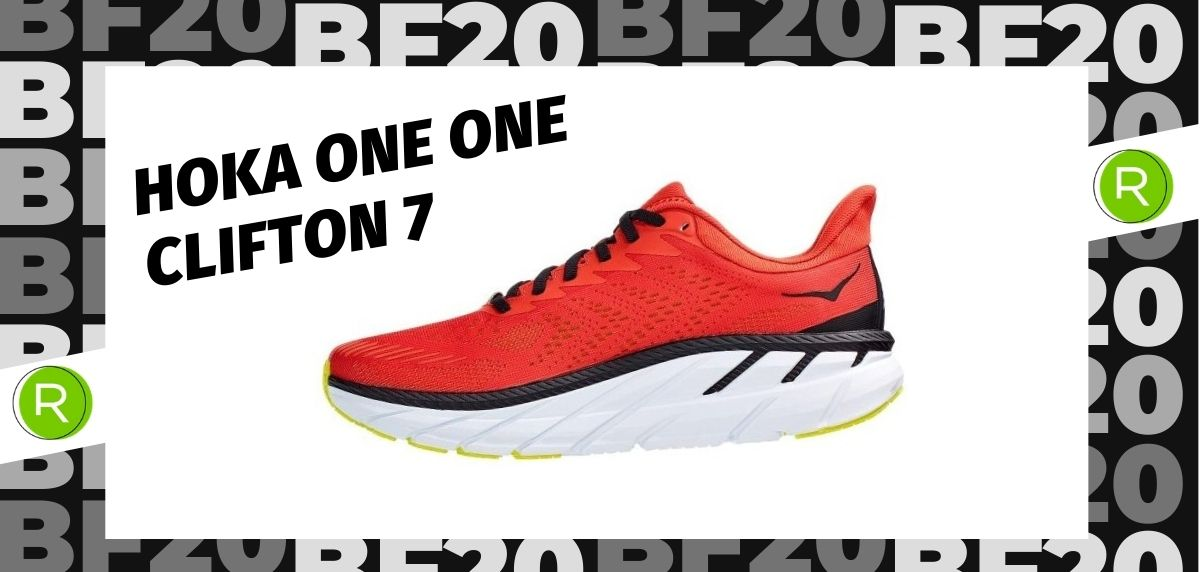 Black Friday zapatillas 2020: las 25 ofertas más destacadas en running, Hoka One One Clifton 7