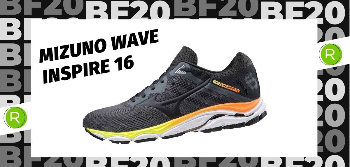 Black Friday zapatillas 2020: las 25 ofertas más destacadas en running, Mizuno Wave Inspire 16