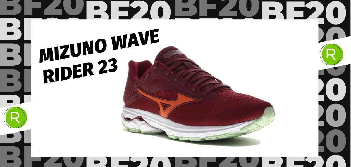 Black Friday zapatillas 2020: las 25 ofertas más destacadas en running, Mizuno Wave Rider 23