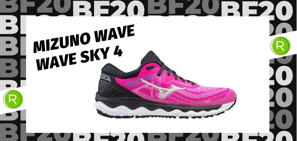 Black Friday zapatillas 2020: las 25 ofertas más destacadas en running, Mizuno Wave Sky 4