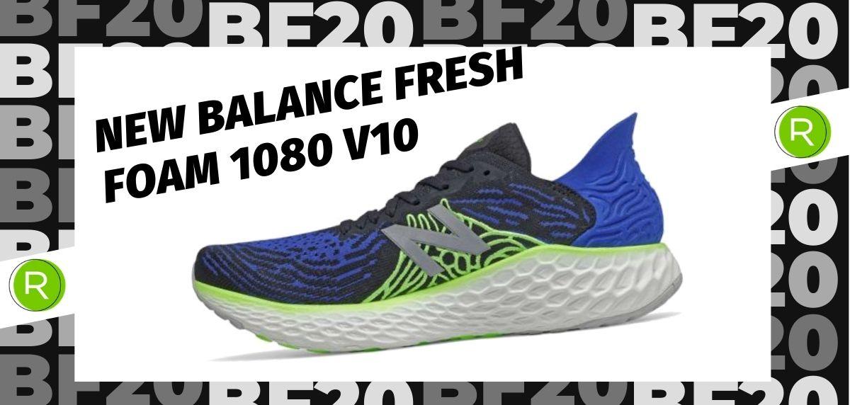 Black Friday zapatillas 2020: las 25 ofertas más destacadas en running, New Balance Fresh Foam 1080 v10