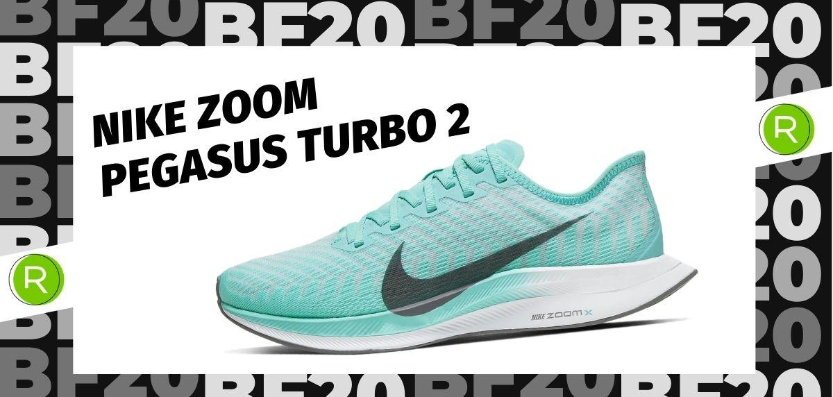 Black Friday zapatillas 2020: las 25 ofertas más destacadas en running, Nike Zoom Pegasus Turbo 2