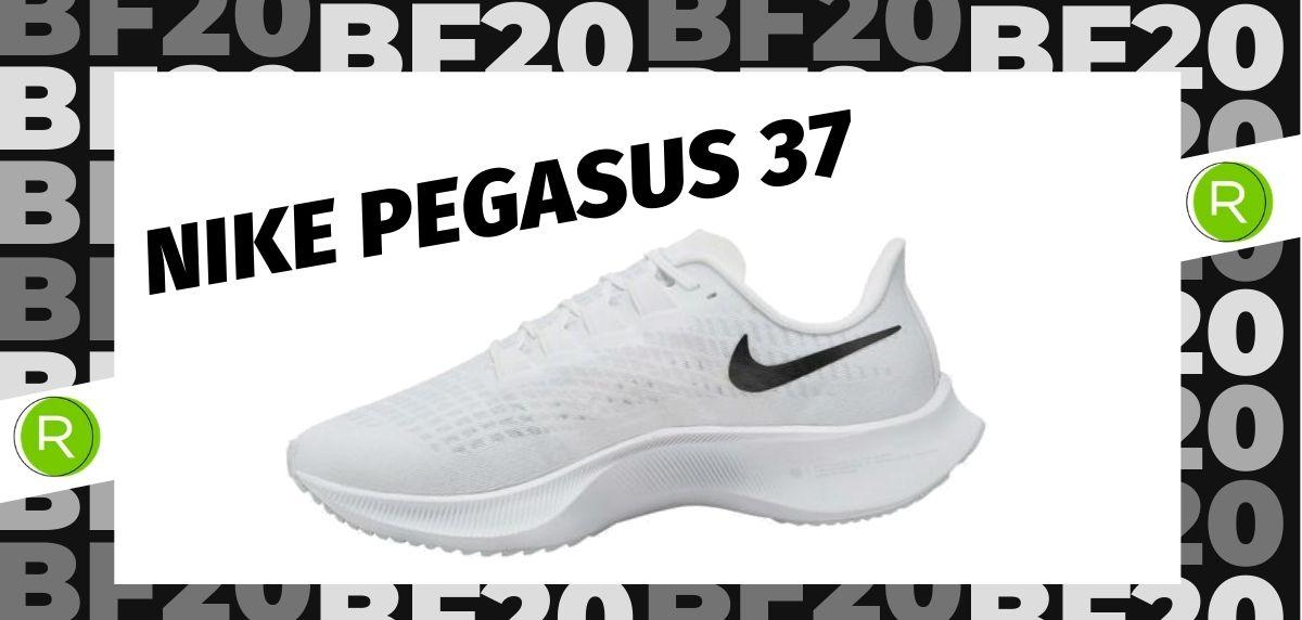 Black Friday zapatillas 2020: las 25 ofertas más destacadas en running, Nike Pegasus 37