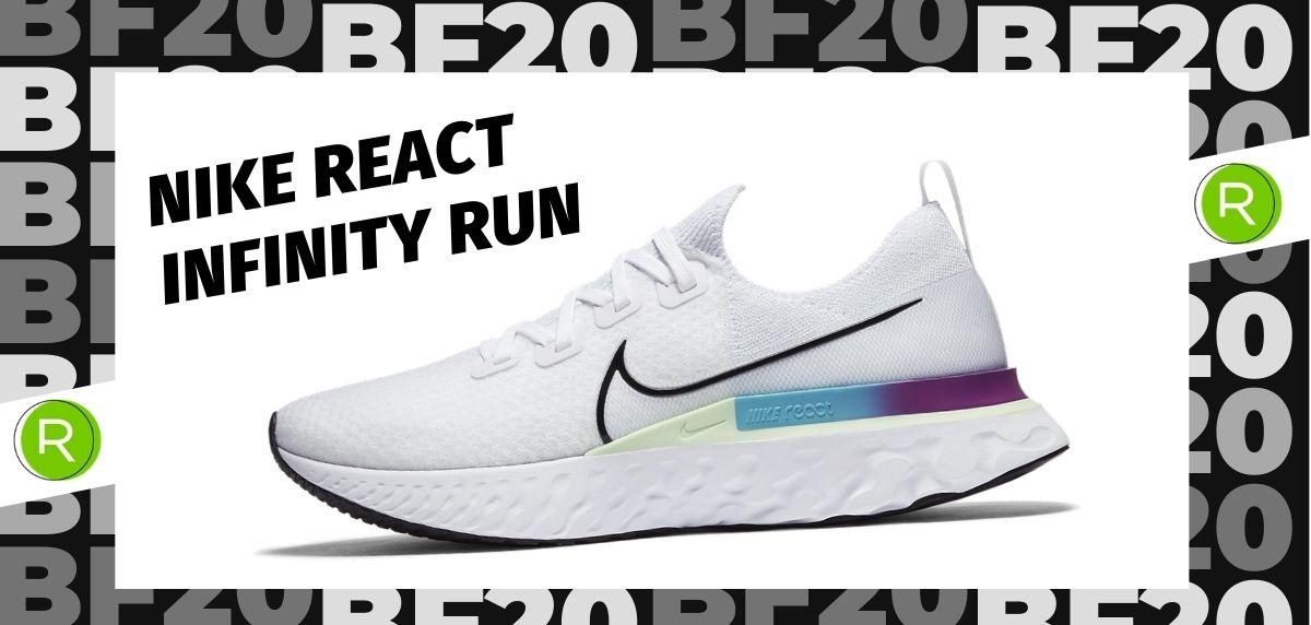 Black Friday zapatillas 2020: las 25 ofertas más destacadas en running, Nike React Infinity Run