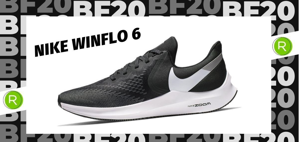 Black Friday zapatillas 2020: las 25 ofertas más destacadas en running, Nike Winflo 6