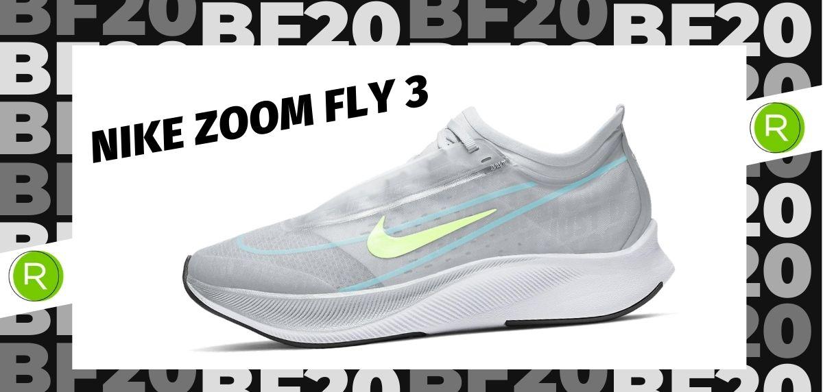 Black Friday zapatillas 2020: las 25 ofertas más destacadas en running, Nike Zoom Fly 3