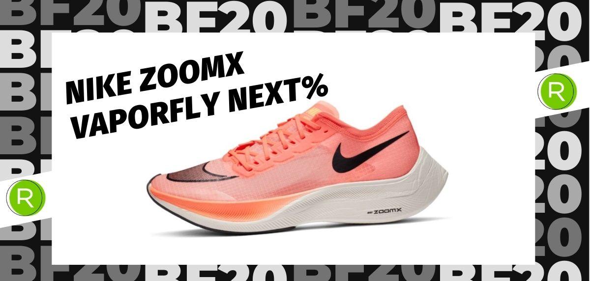 Black Friday zapatillas 2020: las 25 ofertas más destacadas en running, Nike ZoomX Vaporfly Next%