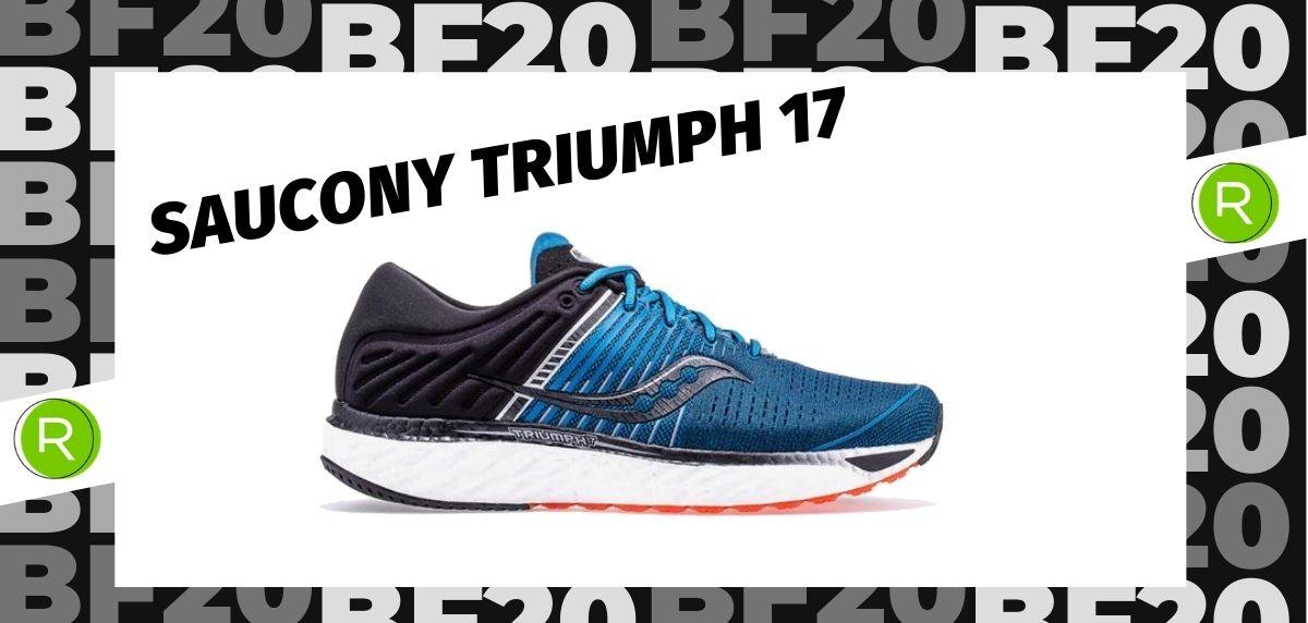 Black Friday zapatillas 2020: las 25 ofertas más destacadas en running, Saucony Triumph 17