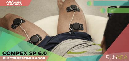 Compex SP 6.0, análisis del electroestimulador con las funciones más interesantes para runners