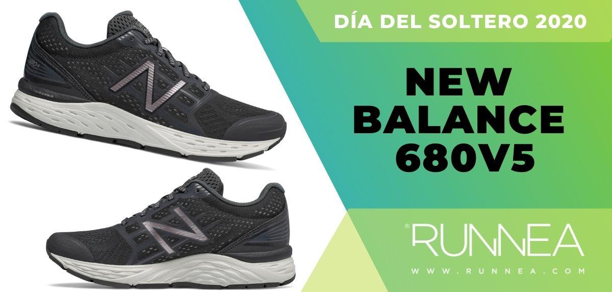 Día del Soltero New Balance 2020: las 6 mejores ofertas en zapatillas, New Balance 680v5