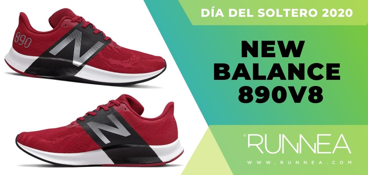 Día del Soltero New Balance 2020: las 6 mejores ofertas en zapatillas, New Balance 890v8