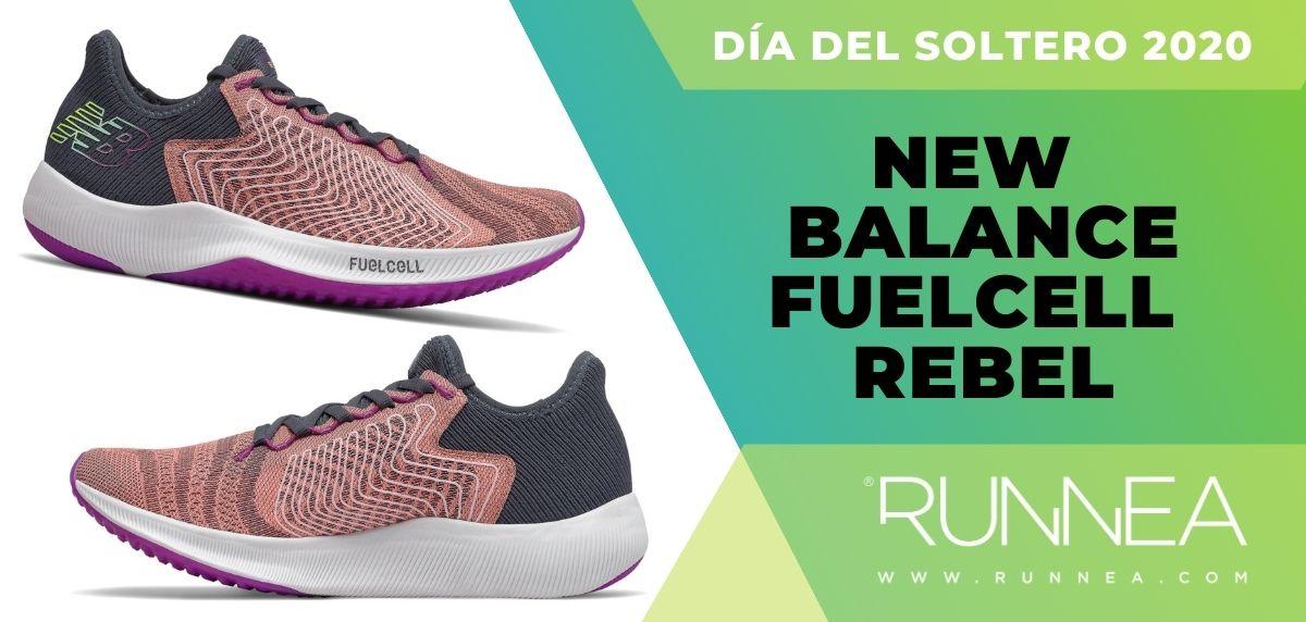 Día del Soltero New Balance 2020: las 6 mejores ofertas en zapatillas, New Balance FuelCell Rebel