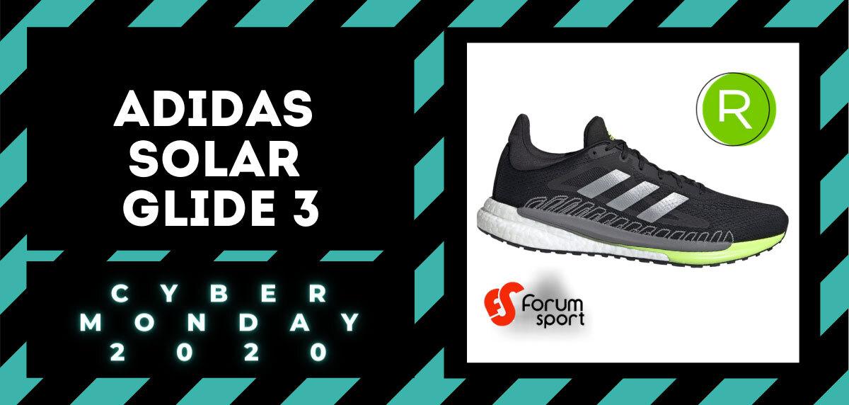 Cyber Monday Forum Sport 2020: 20% adicional en productos running. Adidas Solar Glide 3 para hombre