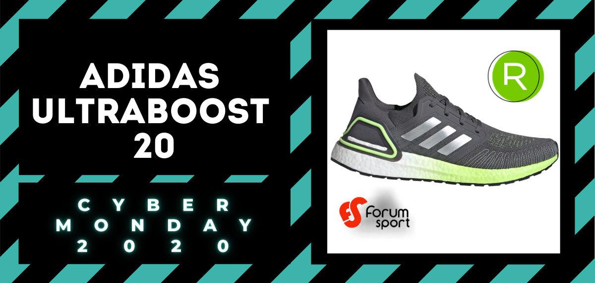 Cyber Monday Forum Sport 2020: 20% adicional en productos running. Adidas Ultraboost 20 para hombre