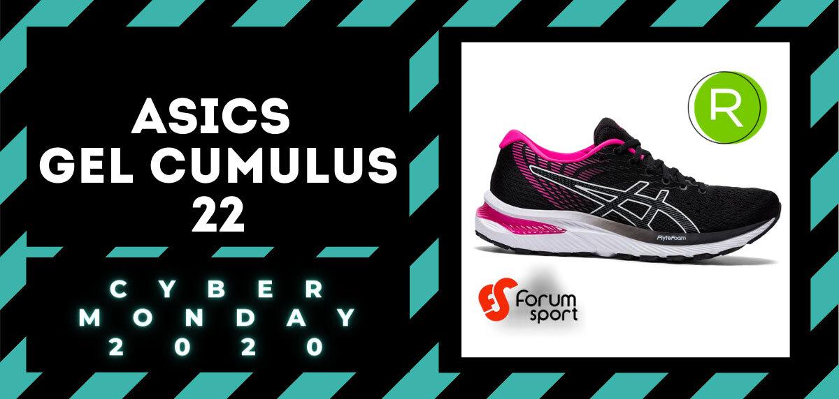 Cyber Monday Forum Sport 2020: 20% adicional en productos running. ASICS Gel Cumulus 22 para mujer
