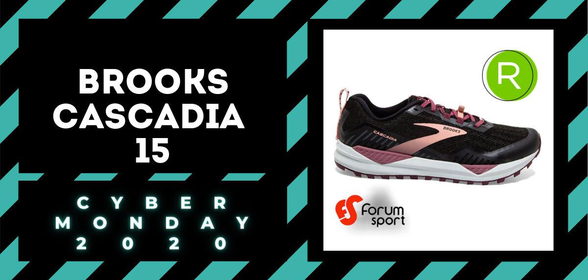 Cyber Monday Forum Sport 2020: 20% adicional en productos running. Brooks Cascadia 15 para mujer