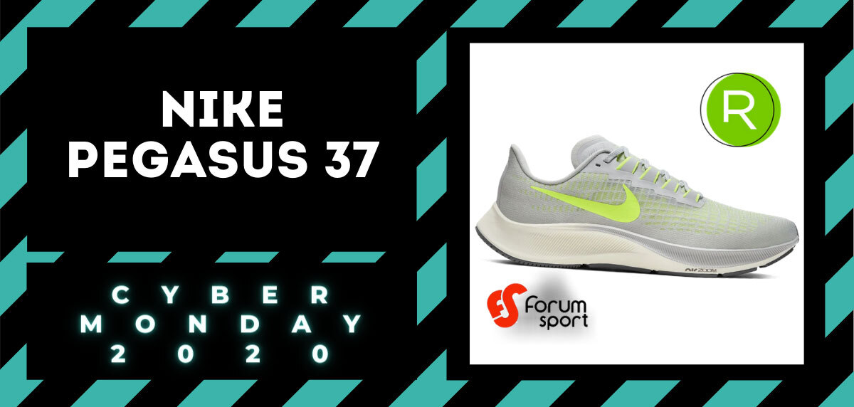 Cyber Monday Forum Sport 2020: 20% adicional en productos running. Nike Pegasus 37 para hombre