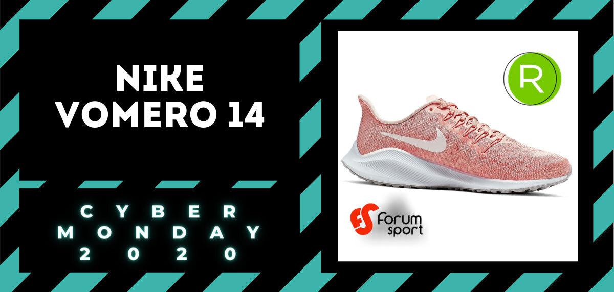 Cyber Monday Forum Sport 2020: 20% adicional en productos running. Nike Vomero 14 para mujer