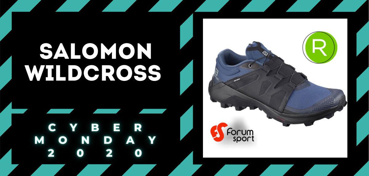 Cyber Monday Forum Sport 2020: 20% adicional en productos running. Salomon Wildcross para hombre
