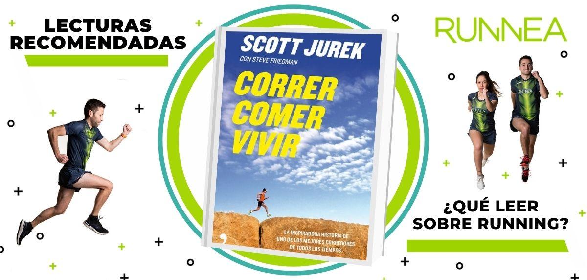 Libros de running y nutrición que deberías leer para convertirte en un mejor corredor, Correr, comer, vivir