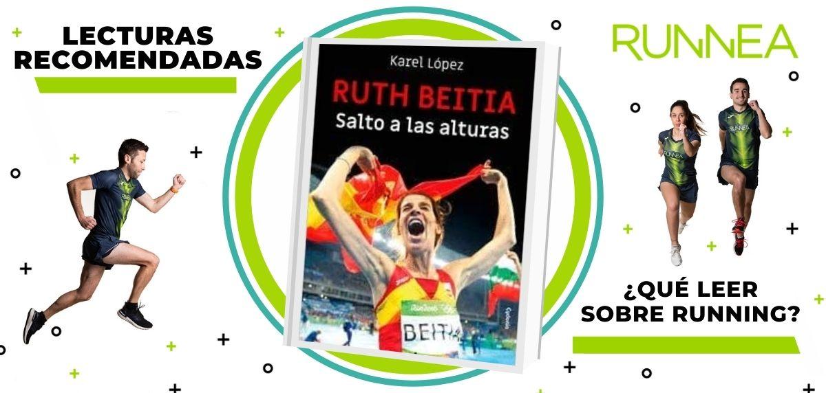 Libros de running y nutrición que deberías leer para convertirte en un mejor corredor, Ruth Beitia: salto a las alturas